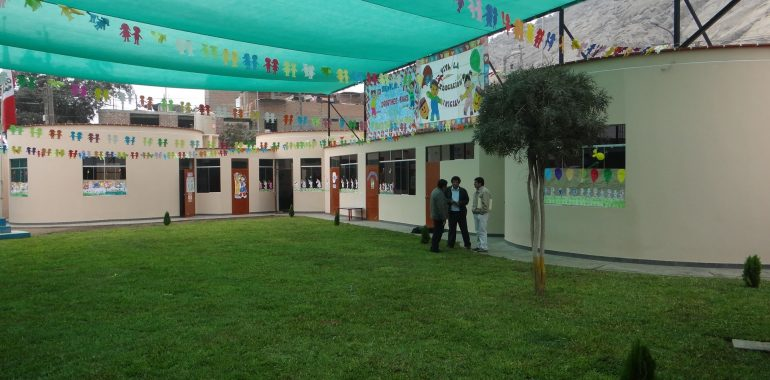 Recognition of the nursery by the Peruvian Ministry of Education